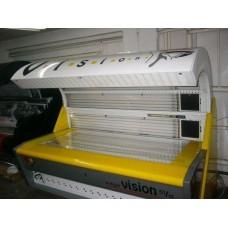 MEGASUN Mega Vision 800 VHR, хоризонтален солариум, рециклиран