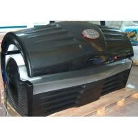 UWE X-treme Black Power, хоризонтален солариум, рециклиран